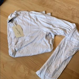 BNWT long sleeve white T-shirt